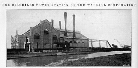 1922 Birchhills Power Station - site where first 5000KW turbine generator installed