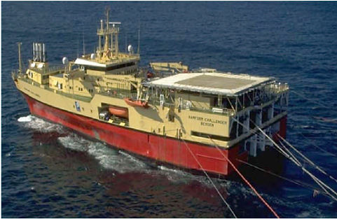 RAMFORM Survey Ship - one of six supplied