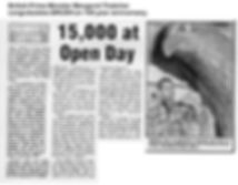 1989 HS News - Open Day and Thatcher letter