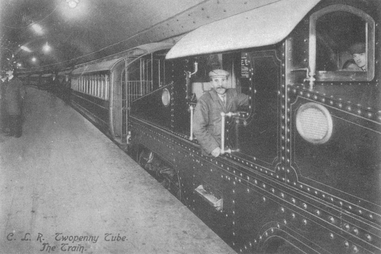 London Underground electric loco