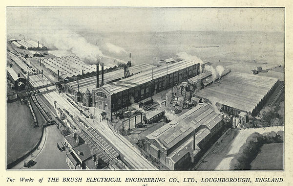 1930 Brush factory overhead
