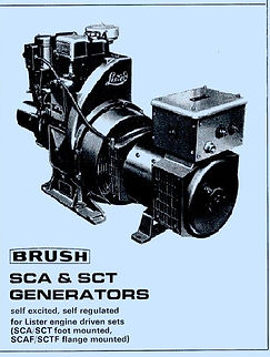 1976 - Brush type SCA & SCT Alternators