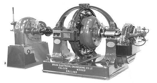 1905 Hydro turbine generator set