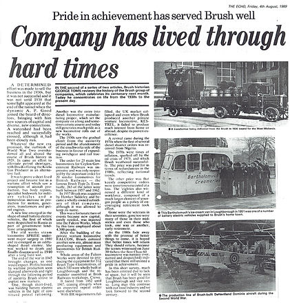 1989 Loughborough Echo article - Part TWO