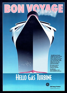 GE Ad for LM GT driven Cruise Ships: Over 20 ships had Brush generators.