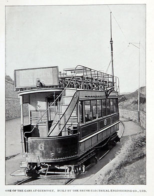 1893 - Guernsey Tram #6 delivered