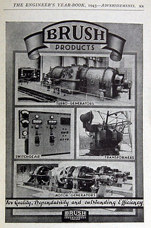 1943 Engineers Year Book - Brush Ad