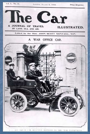 1902 British War Department Automobile