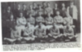 1907 Falcon-Victoria football team.  How many of these young men served or died in WW!?