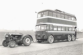 City of Nottingham Trolley bus # 87 delivered February 1934. 2nd of 21 Ransomes D6 chassis with Brush coachwork