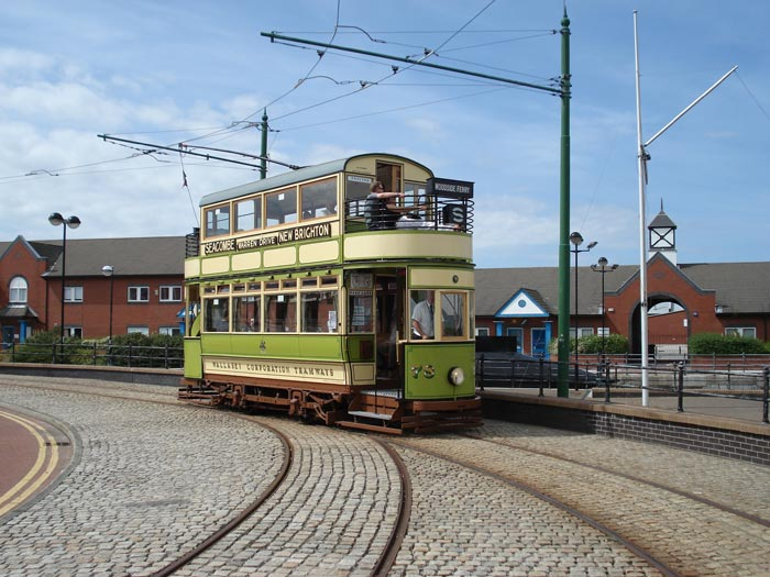 1920 Wallasey Brush Tram