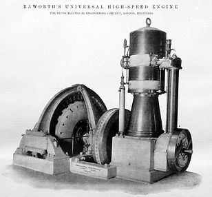 1896 engine driven generator package