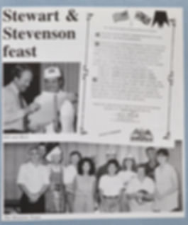 1993 Hospitality event for Stewart & Stevenson - Houston