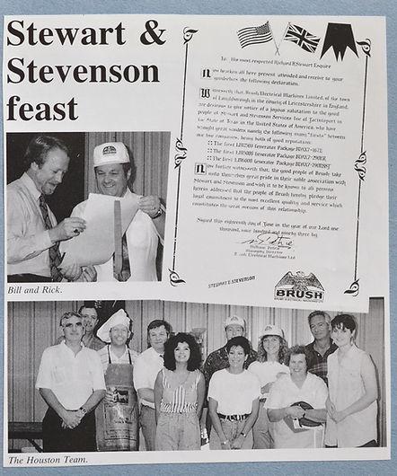 1993 Hospitality event for Stewart & Stevenson - Houston