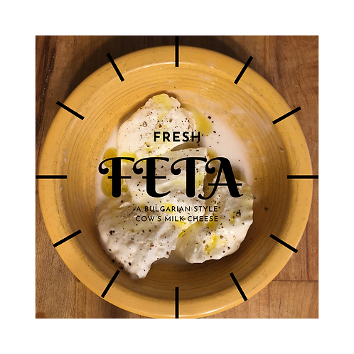 Fresh Feta in Brine