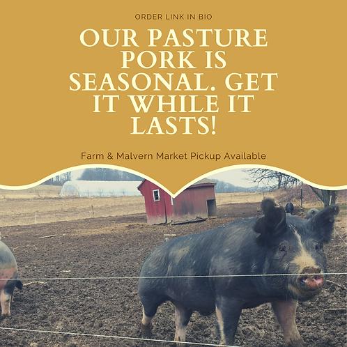 Pastured Pork Sampler