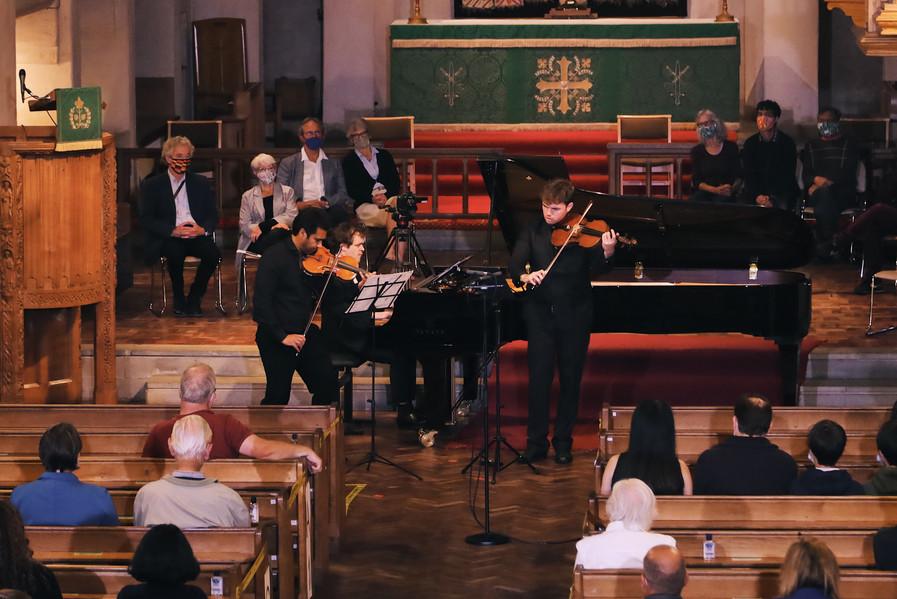 19.09.20 - Schubert Notturno/Trout Quintet