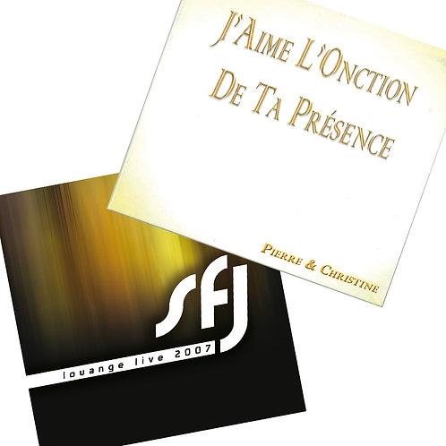 Album : J'aime l'onction de ta présence + SFJ