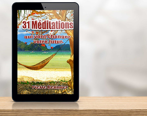 E-Book 31 Méditations qui vont changer votre futur