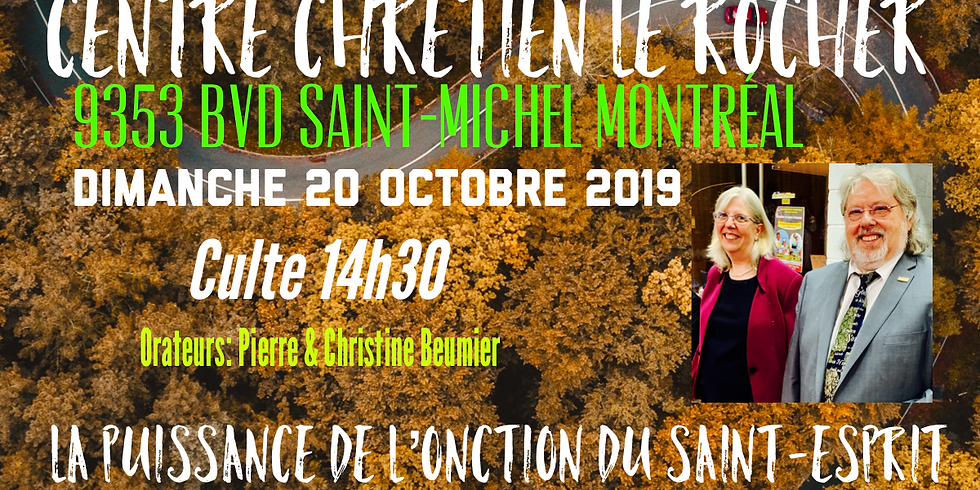 Culte au Centre Chrétien de Montréal Le Rocher