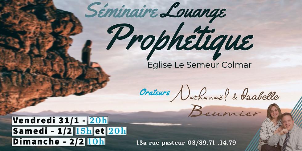 Séminaire Louange Prophétique - Colmar (FR)