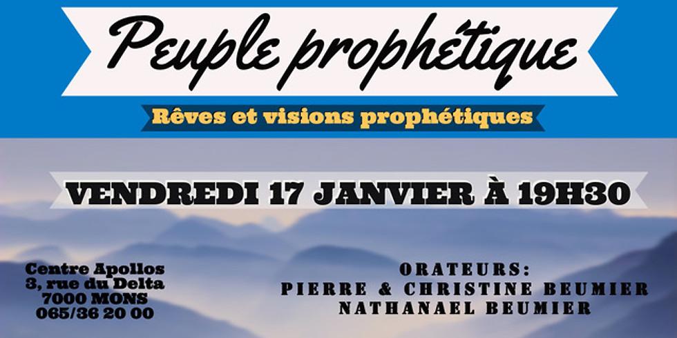 PEUPLE PROPHÉTIQUE - Mons