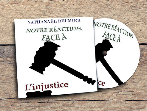 Notre réaction face à l'injustice Nath Beumier