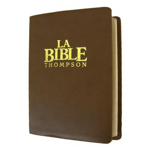 BIBLE THOMPSON COLOMBE LUXE
