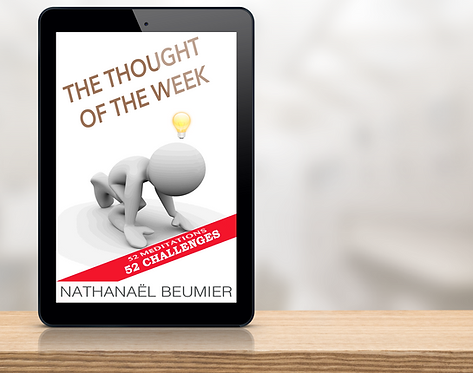 The Thought of the week - Nathanaël Beumier