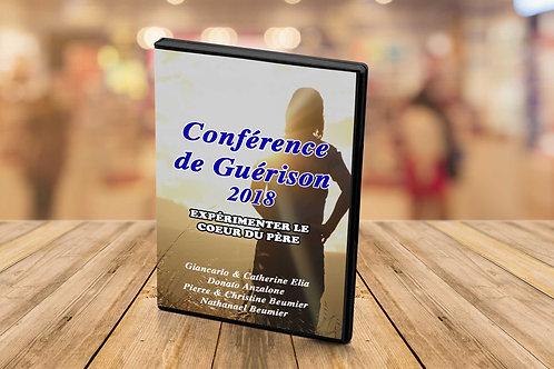 Conférence de guérison 2018 'Expérimenter le coeur du père'