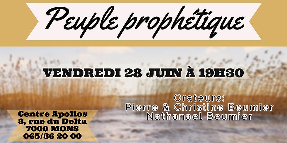 Devenir un PEUPLE PROPHÉTIQUE