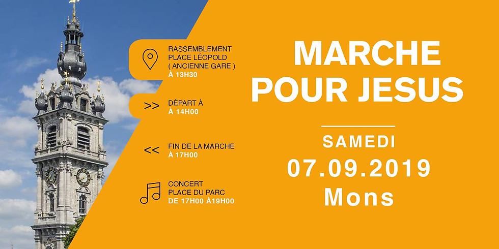 Marche Pour Jésus - Mons