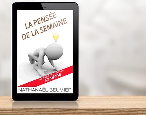 E-Book - La pensée de la semaine par Nathanaël Beumier