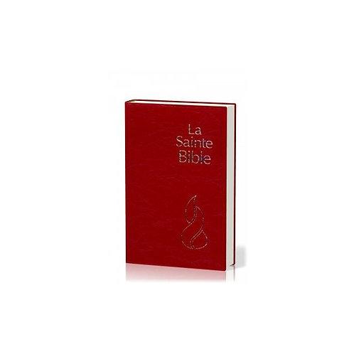 BIBLE NEG COMPACTE PVC GRENAT ou Noir SOUPLE