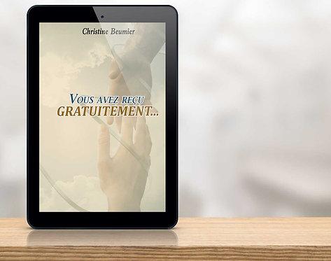 E-BOOK Vous avez reçu gratuitement 'Christine Beumier'