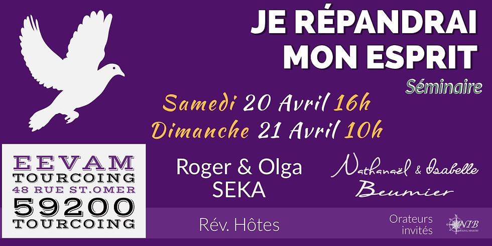 Je Répandrai Mon Esprit - Tourcoing