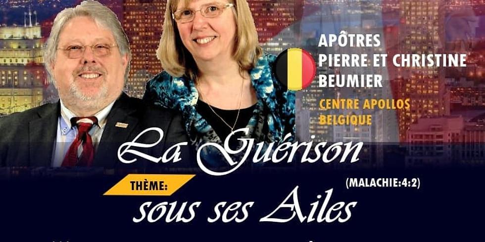 LA GUERISON SOUS SES AILES