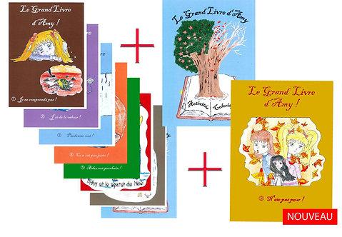 Le Grand Livre D'Amy 1 à 8 + Livre D'activité