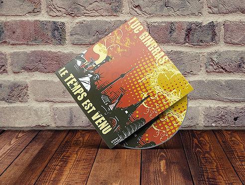 """Album: Le temps est venu""""Luc Gingras"""""""
