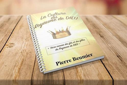 La culture du royaume de Dieu. Pierre Beumier