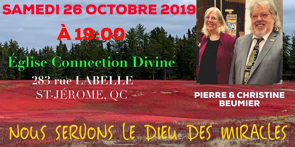 Soirée de miracles à St Jérôme