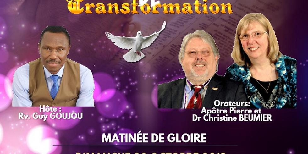 23 - 25 Octobre : Une semaine de Transformation à Montréal