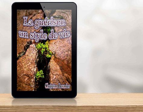 E-Book La guérison, un style de vie