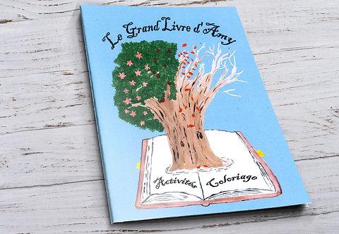 Le grand livre d'Amy ! Activité & Coloriage
