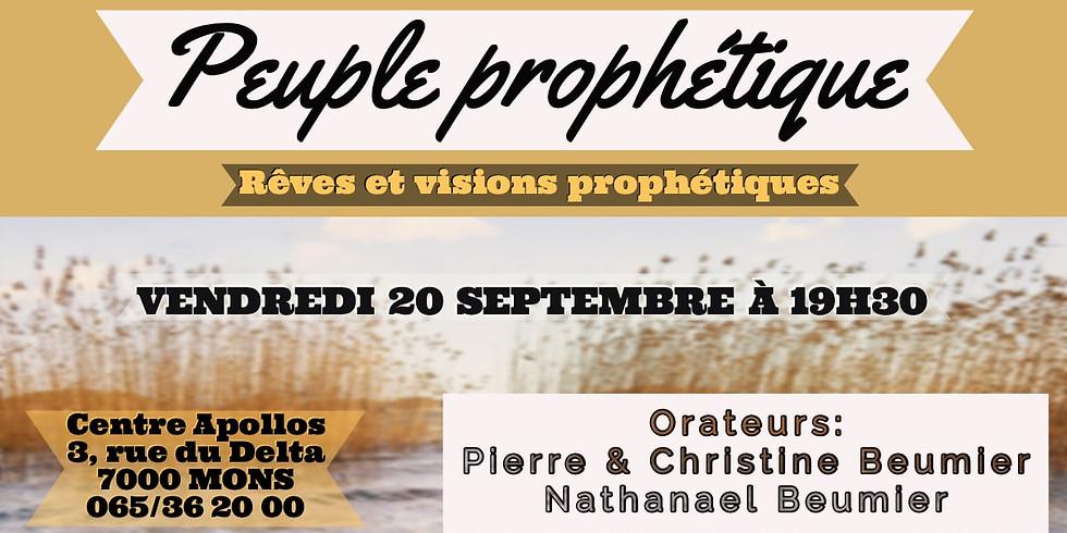 Devenir un Peuple prophétique - Mons