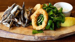 Whitebait and Calamari