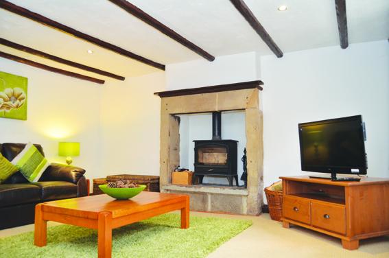 The living room, Harrow Cottage
