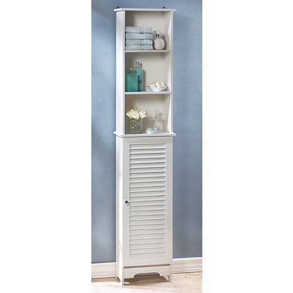 Bathroom tall storage cabinet