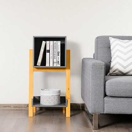 Book stand end table