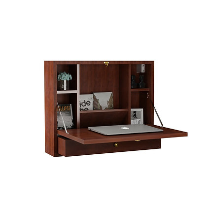 Tiny home wall mounted desk